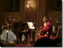コンサートの楽団