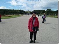 広大なシェーンブルン宮殿の庭園