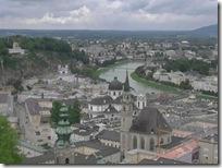 ザルツブルク市内全景