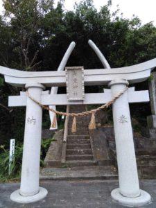 海堂神社の鳥居
